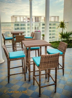 Bar Table & Chairs